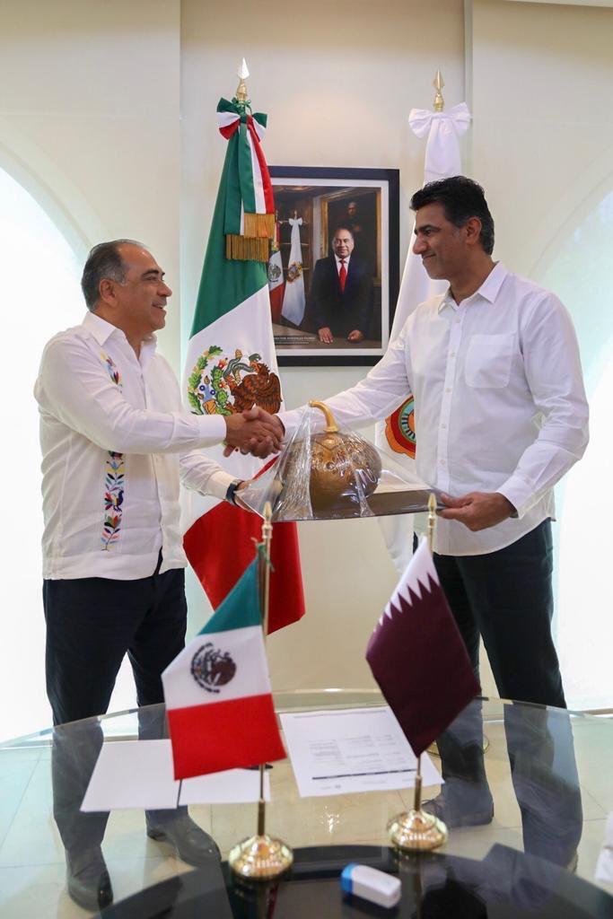 Héctor Astudillo atrae inversiones árabes para Guerrero
