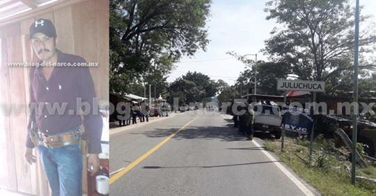 "Matan al lider de la policía comunitaria ""El  Z"" en Petatlán"