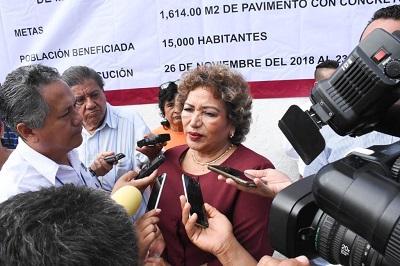 """(Video) """"Con Andrés Manuel las cosas van a mejorar en seguridad pública"""": Adela Román"""
