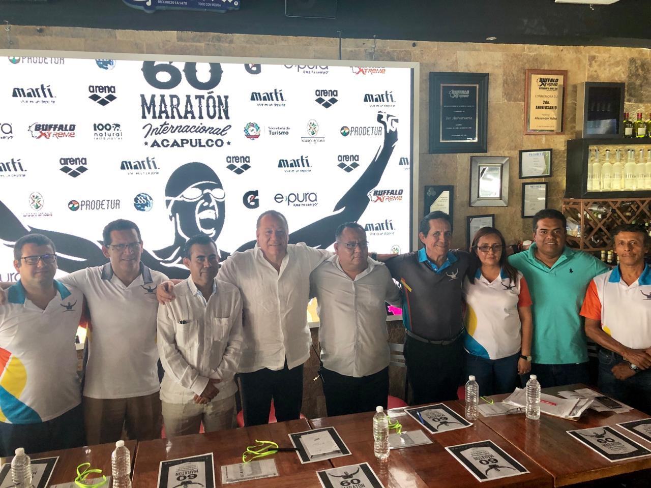 El Próximo sábado y domingo se llevará a cabo el 60 Maratón Internacional Acapulco