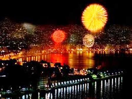 Sí habrá gala pirotecnia de fin de año en Acapulco