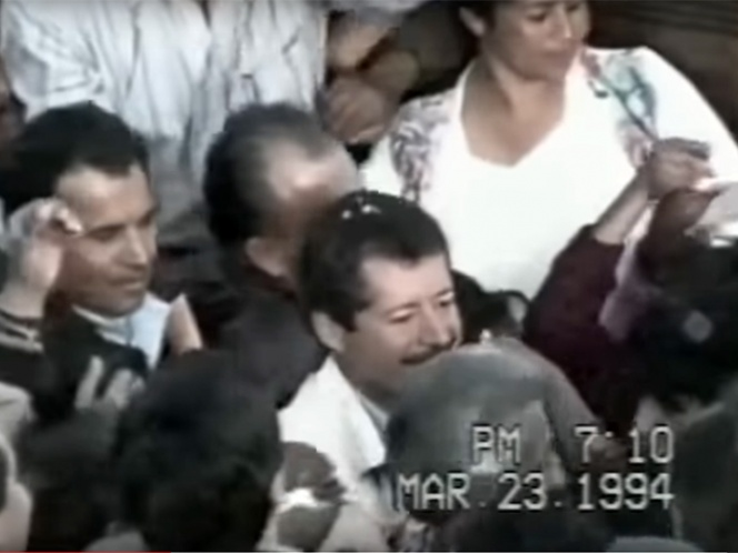 Dan a conocer video no editado del asesinato de Colosio