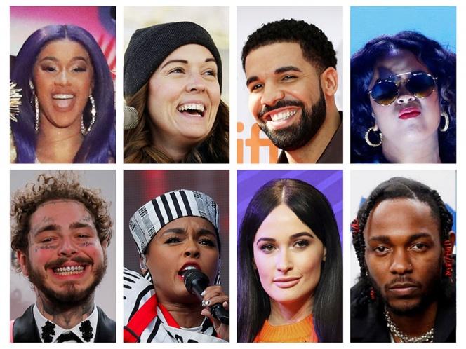 Kendrick Lamar arrasa en nominaciones a los Grammy