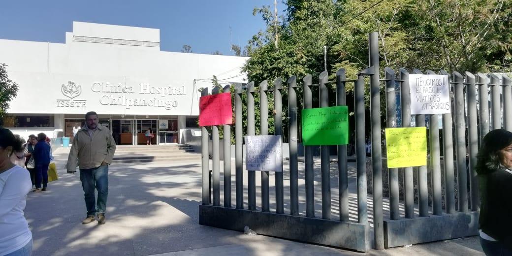 Clínicas del ISSSTE en Guerrero, al borde de la parálisis por crisis económica