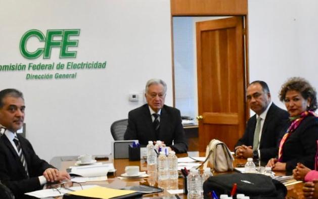 Gestiona Héctor Astudillo ante CFE solución a deuda de CAPAMA