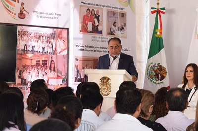 Secretaría de Gobernación Federal ya tiene conocimiento de extorsiones a maestros: Astudillo