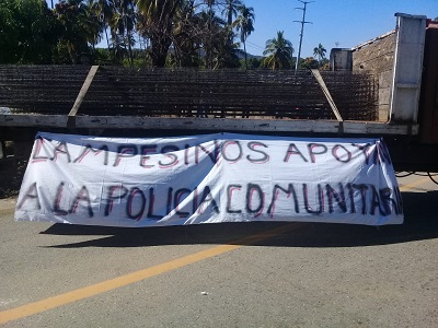 Crean policía comunitaria en 4 municipios de la Costa Grande, adherida a la UPOEG
