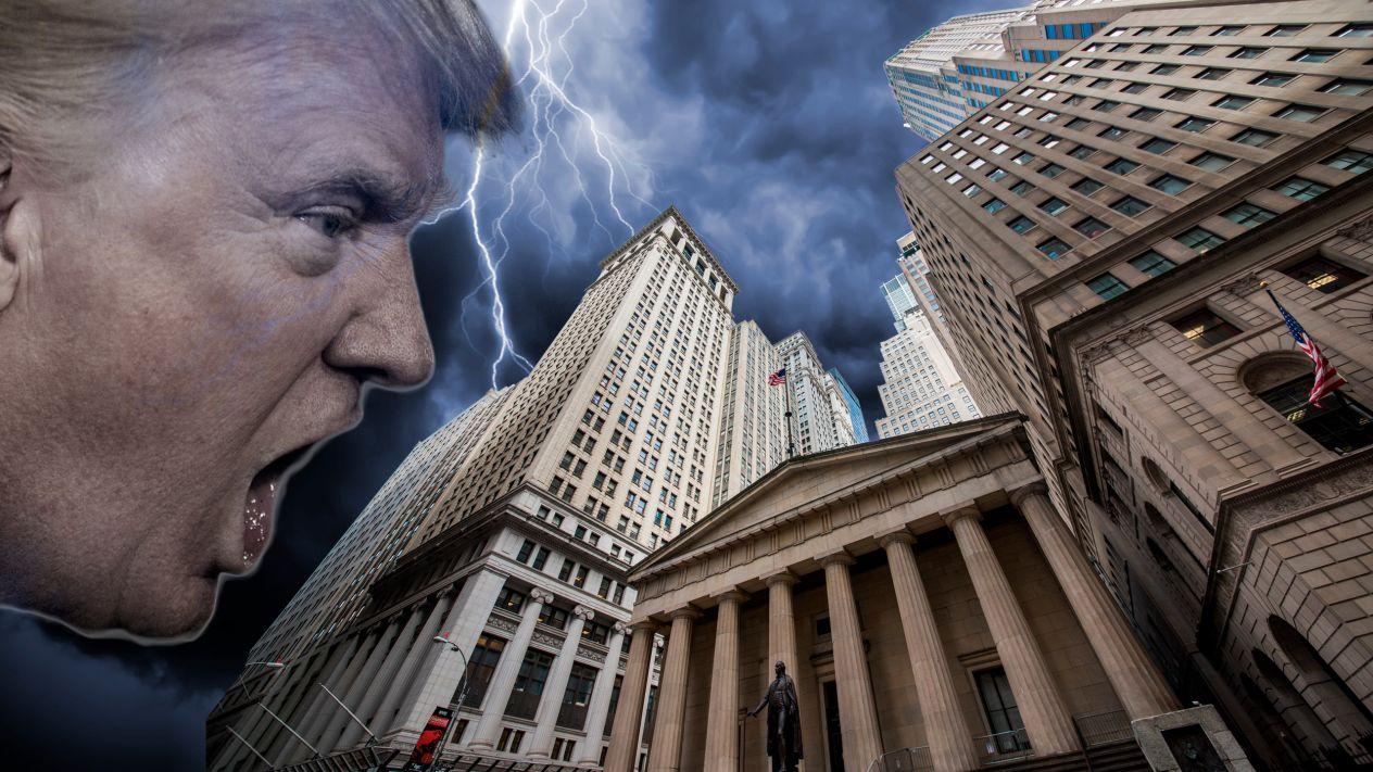'Hombre arancel' tira a bolsas de Wall Street