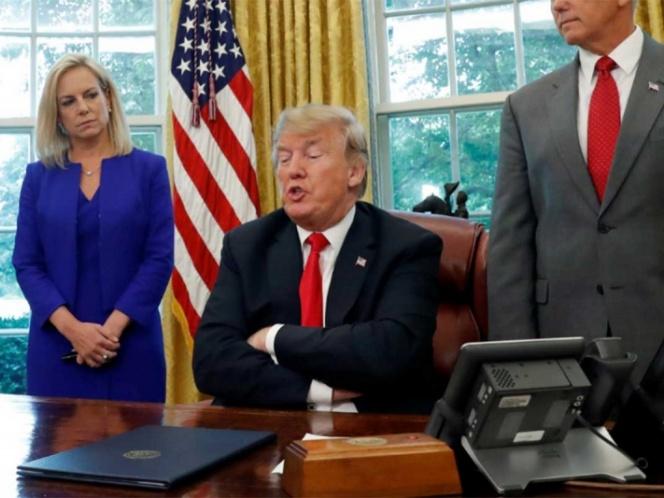 ¿Por qué Trump insiste en que México paga por el muro?