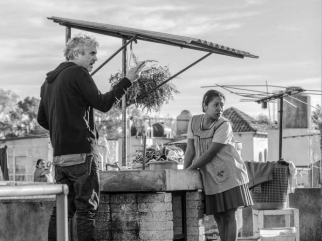 'Roma' y Cuarón con tres nominaciones al Globo de Oro