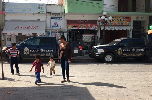 Tres años después, vuelve la Gendarmería a Chilapa
