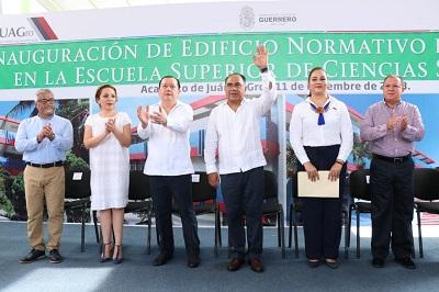 Histórico el apoyo a los estudiantes de la UAGro: Astudillo; inaugura dos edificios con una inversión de más de 23 mdp