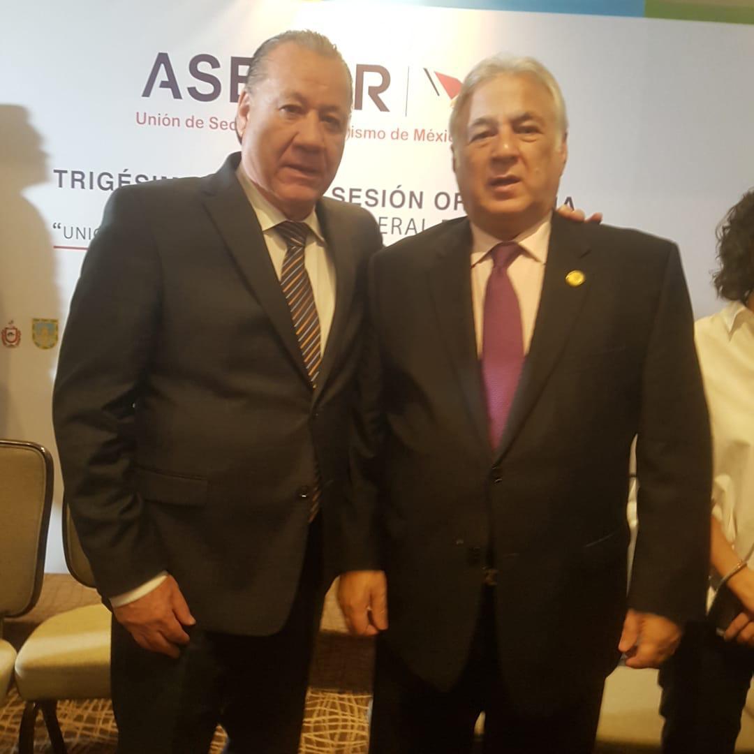 Se reúne Ernesto Rodríguez con el titular de SECTUR federal para tratar lo del Tianguis Turístico 2019