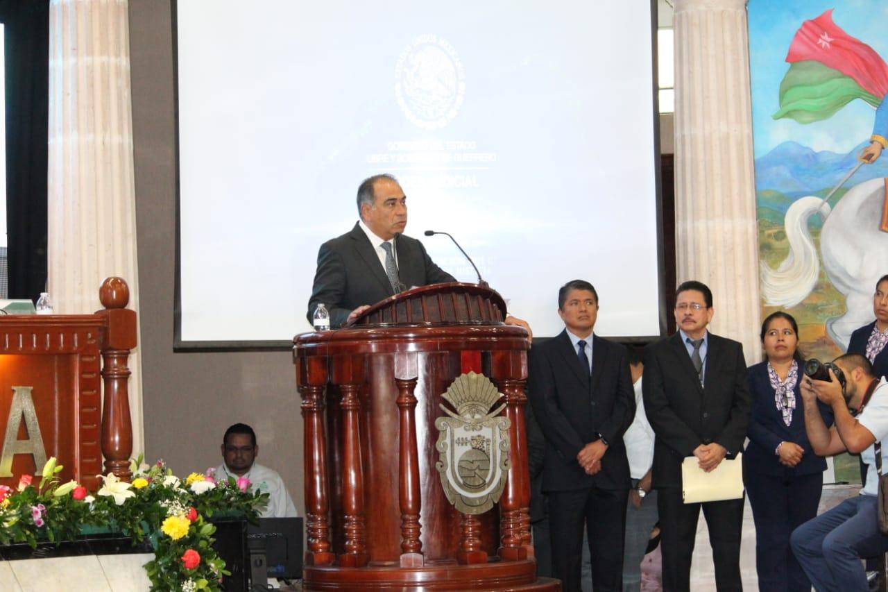 El Gobernador Héctor Astudillo Ratifica su compromiso de colaboración  con TSJ y sus trabajadores.