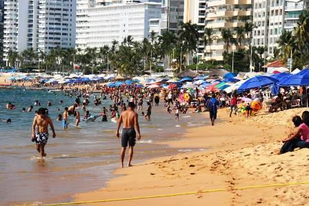 Acapulco llega al 74% de ocupación hotelera
