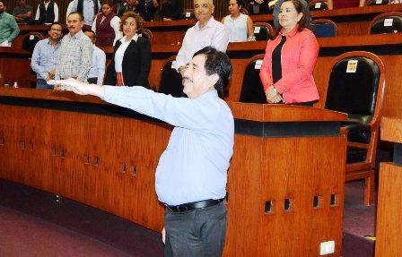 Crónica legislativa: Antonio Helguera Jiménez es el nuevo coordinador de los diputados de Guerrero