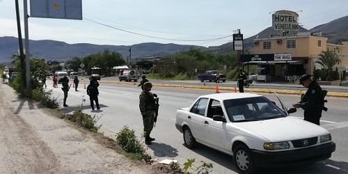 Guardia Nacional implementa operativos en Chilpancingo, por fiestas Guadalupanas