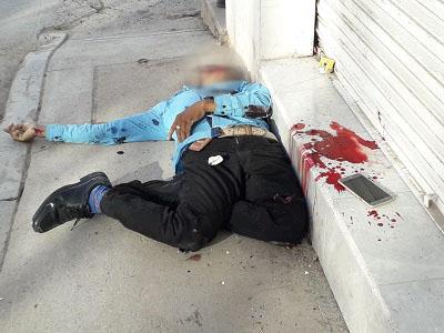 Asesinan a un joven en el centro de Chilapa