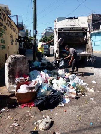 Recolectan mil 100 toneladas de basura por celebración de Noche Buena en Acapulco