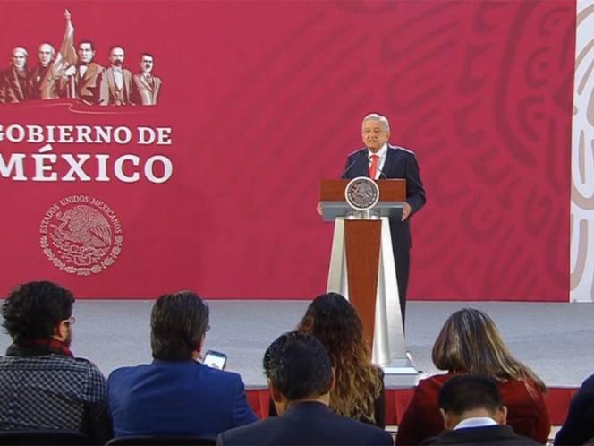 'No he tocado el tema del muro con Trump', precisa López Obrador