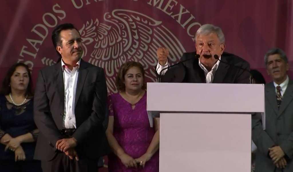 AMLO: declararemos emergencia para encontrar a los desaparecidos en Veracruz