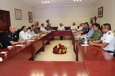 Revisa la Coordinación Estatal para la construcción de la paz, esquema de seguridad para las vacaciones decembrinas