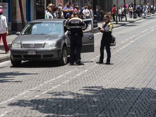 Ajuste de multas de tránsito en la CDMX será de 4.83%