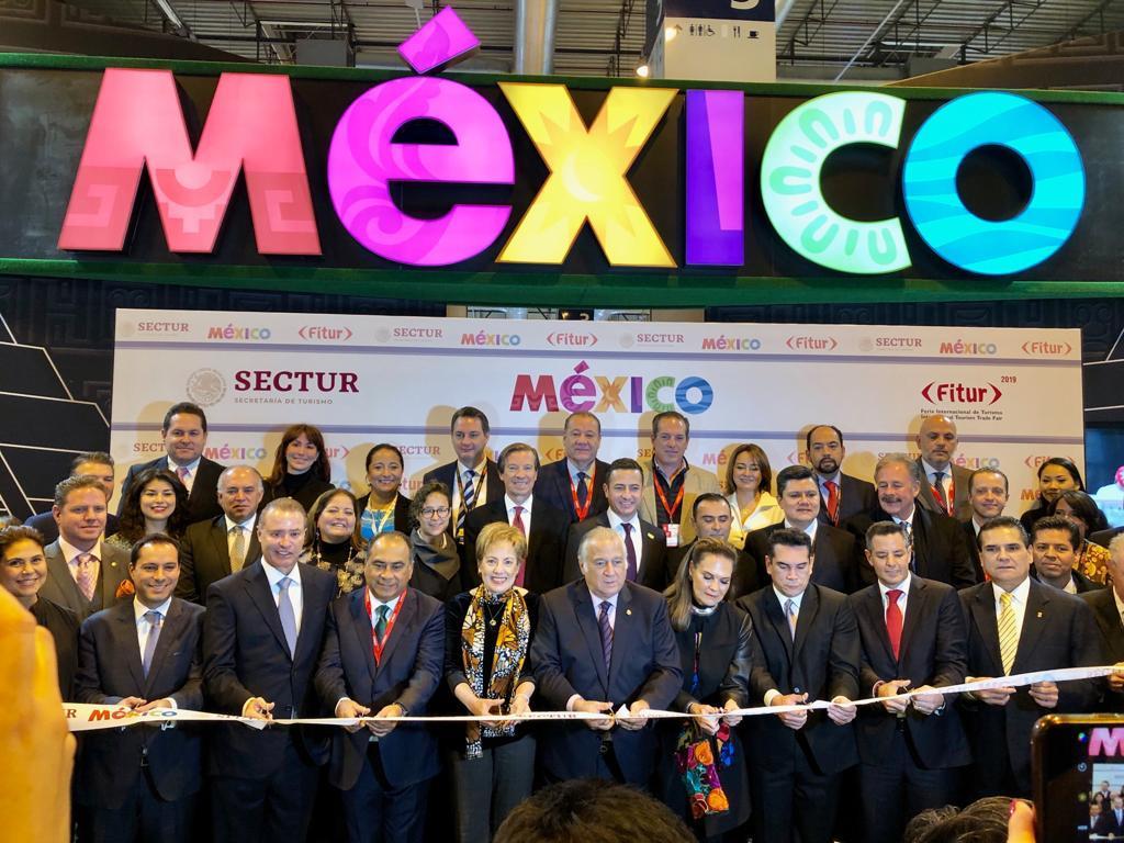 Encabeza el Gobernador los Esfuerzos de promoción de los destinos turísticos de Guerrero en la FITUR 2019