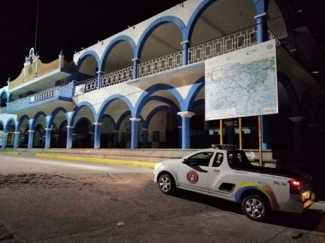 Recorren autoridades Puebla tras explosión de 'Don Goyo'