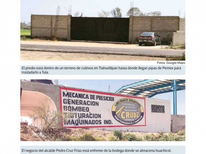 Indagan a edil de Tlahuelilpan por presunta venta de huachicol