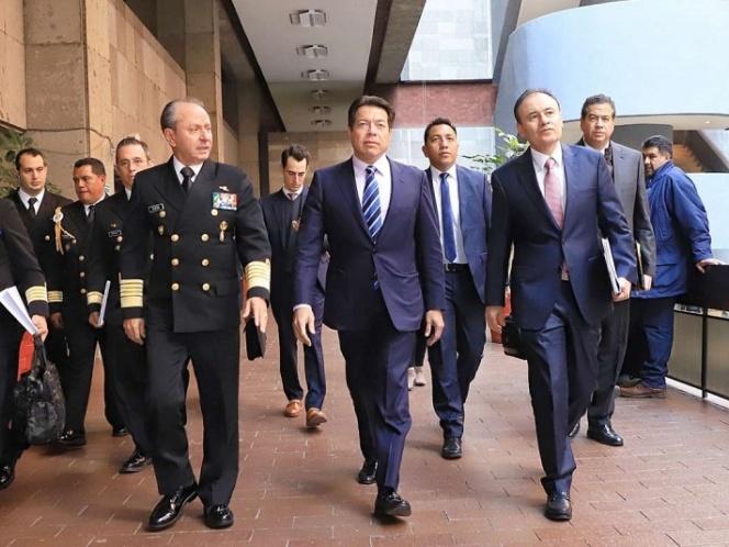 Presidencia pide que Guardia Nacional quede a cargo de la SS