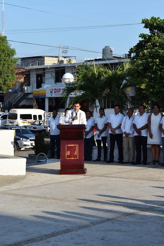 Cumple 169 años de fundación el municipio de Tecpan de Galeana