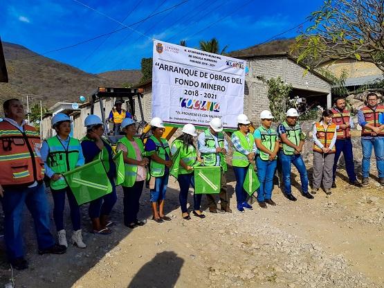 Arrancan obras Fondo Minero en Cocula con 31 mdp