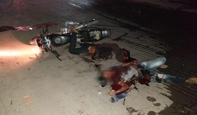 Acribillan a dos jóvenes en El Tomatal, municipio de Iguala
