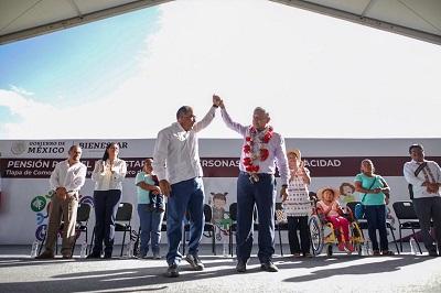 En Guerrero no vamos a ser problema, siempre seremos solución para el presidente: Astudillo