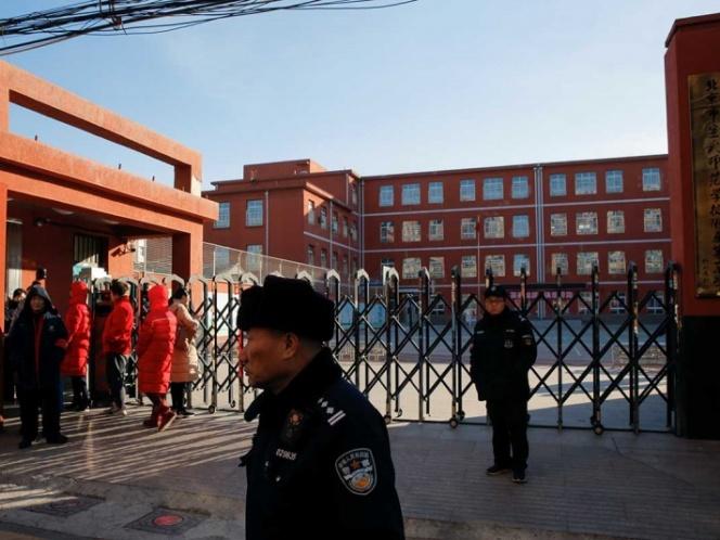 Ataque con martillo en escuela de China deja 20 niños heridos