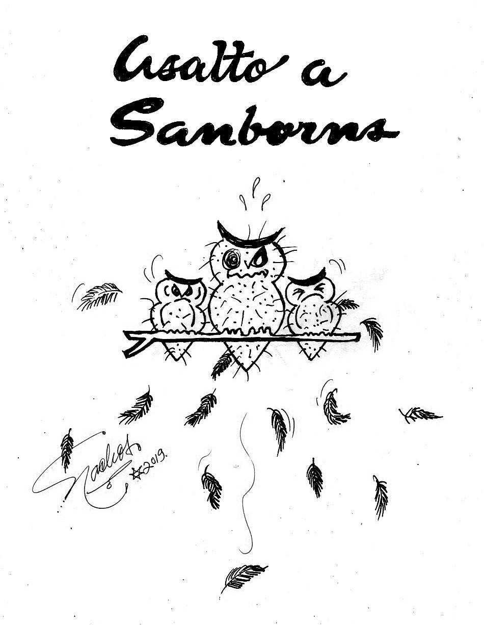 El Cartón de Nacho´s: ASALTO A SANBORNS