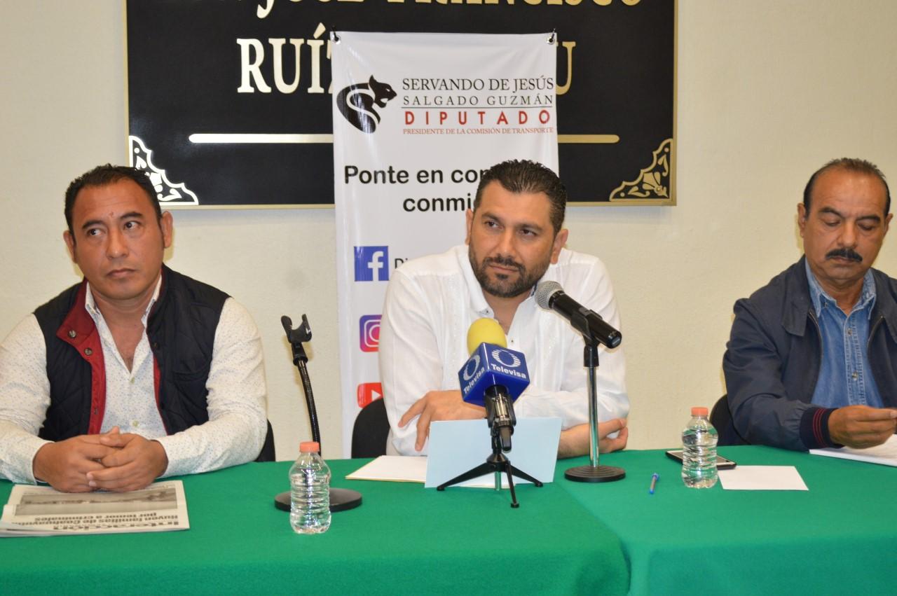 Avanzan trabajos de la Comisión de Diputados para la pacificación de la Sierra