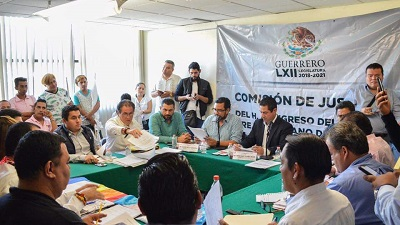 """Aprueba Comisión de Justicia del Congreso de Guerrero, dictamen sobre """"legítima defensa"""""""