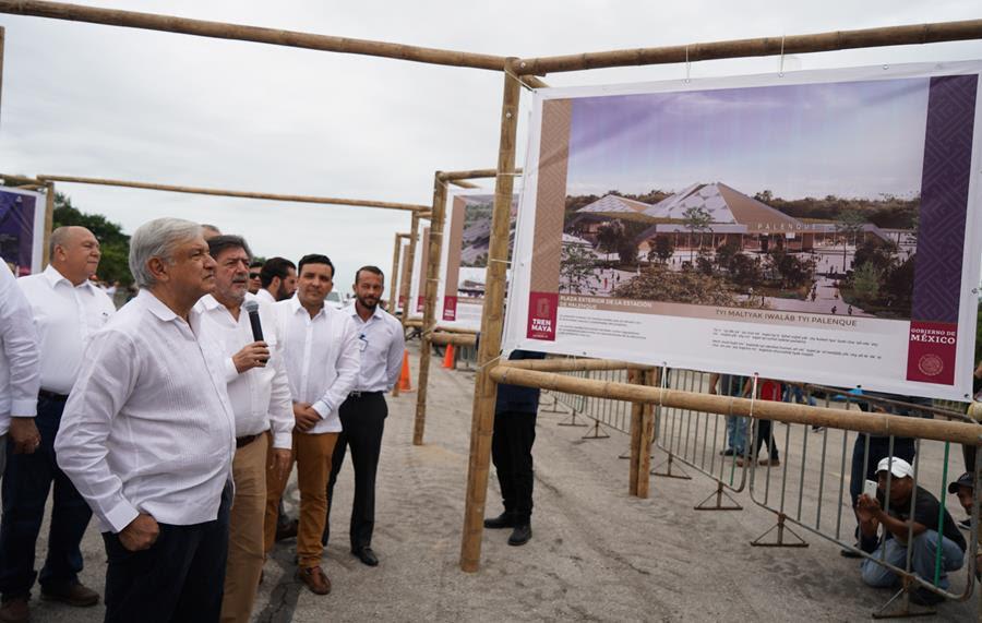 Tren Maya en la mira de inversionistas alemanes