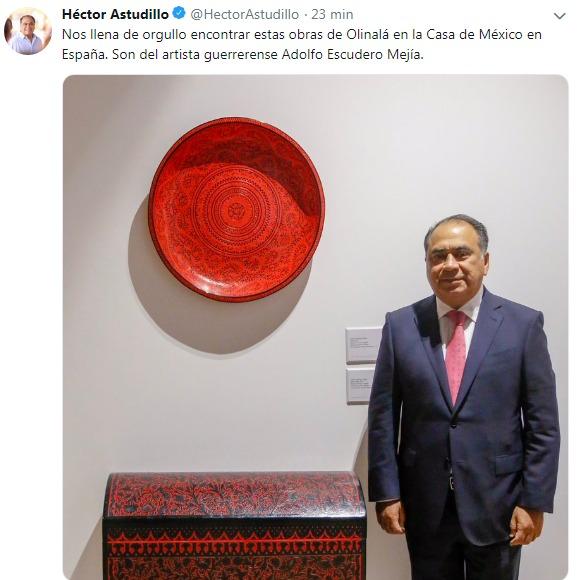 Héctor Astudillo Flores es el primer impulsor  de  los destinos turísticos del estado ante el mundo