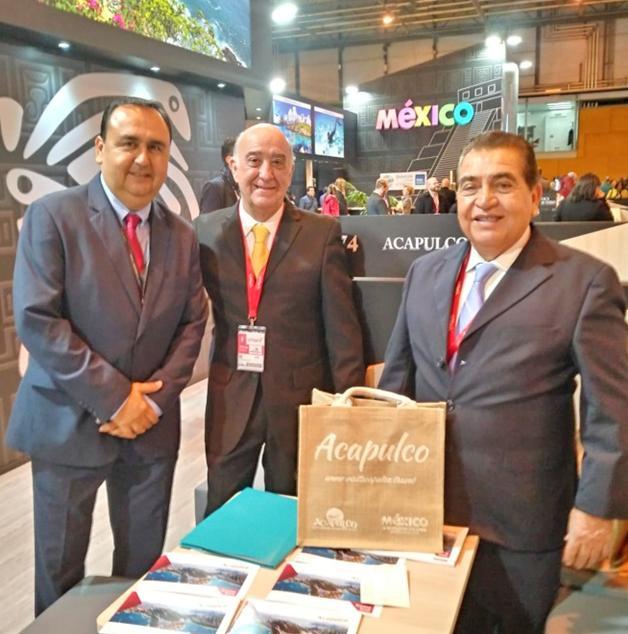 Invitan Acapulco y Guerrero a la OMT al Tianguis Turístico