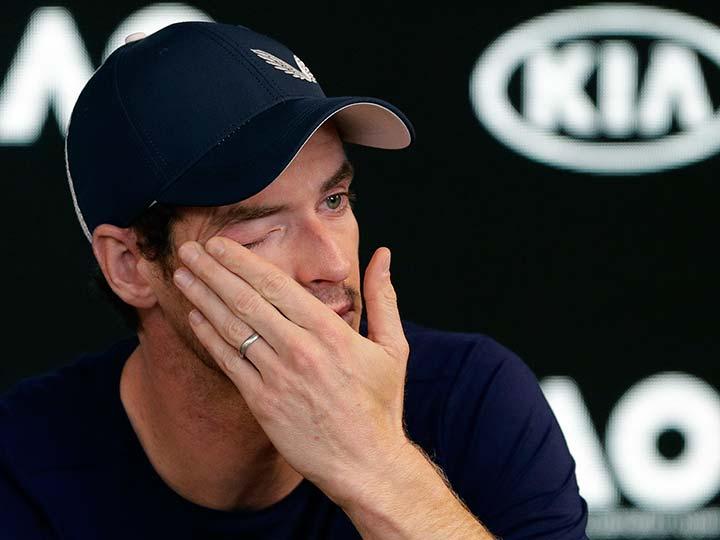 Entre lágrimas, Murray analiza adelantar su retiro