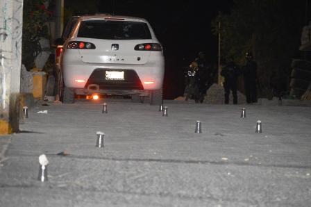 Dos heridos y un vehículo baleado en Chilpancingo