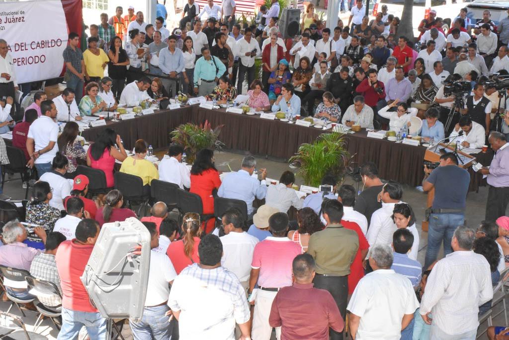 El de Acapulco, un Cabildo que escucha y da la cara, afirma Adela Román