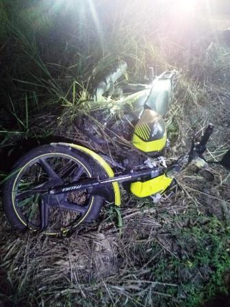 Fallece motociclista en la carretera a Tecpan