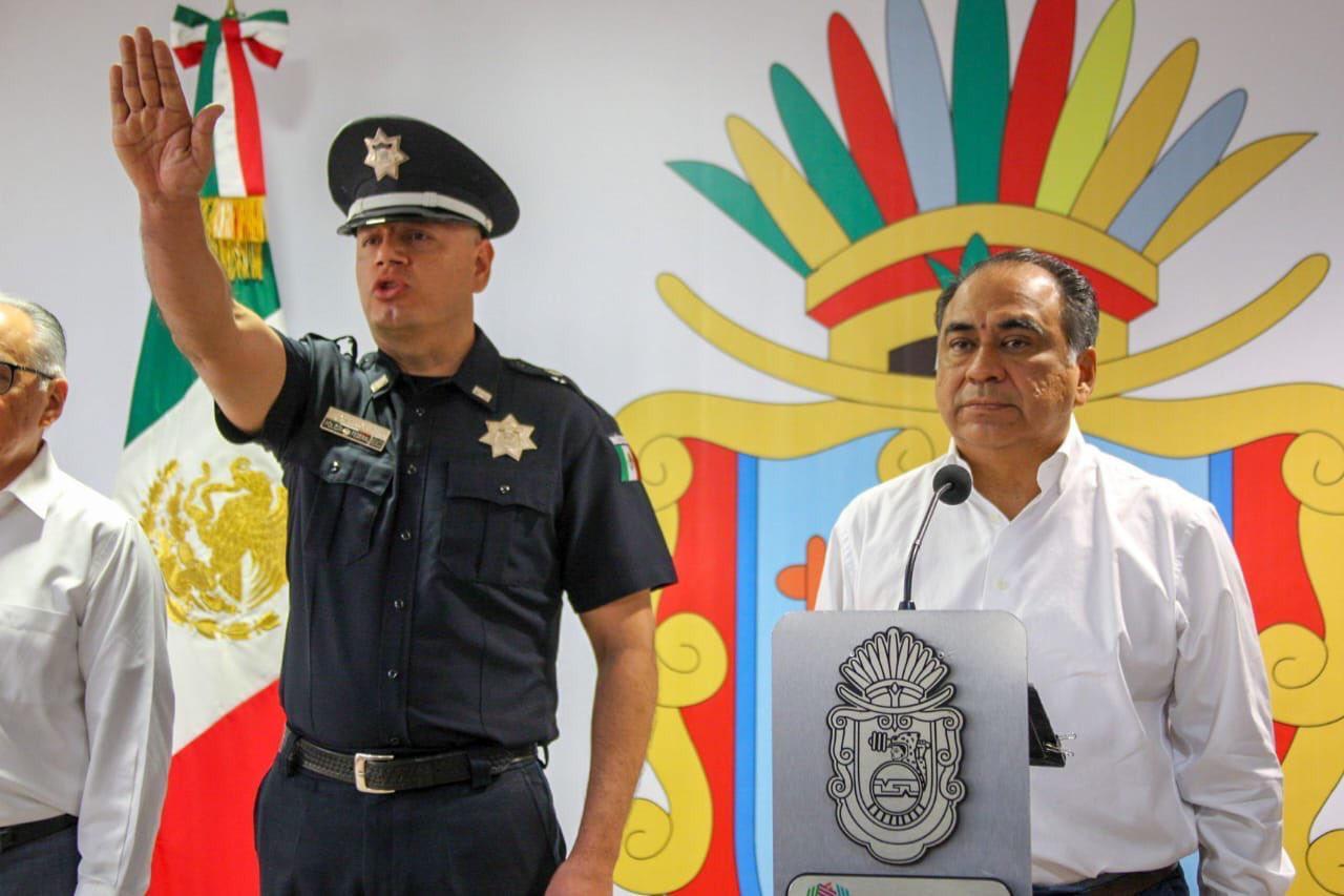 Designa Astudillo Flores a David Portillo Menchaca como secretario de Seguridad Pública en Guerrero