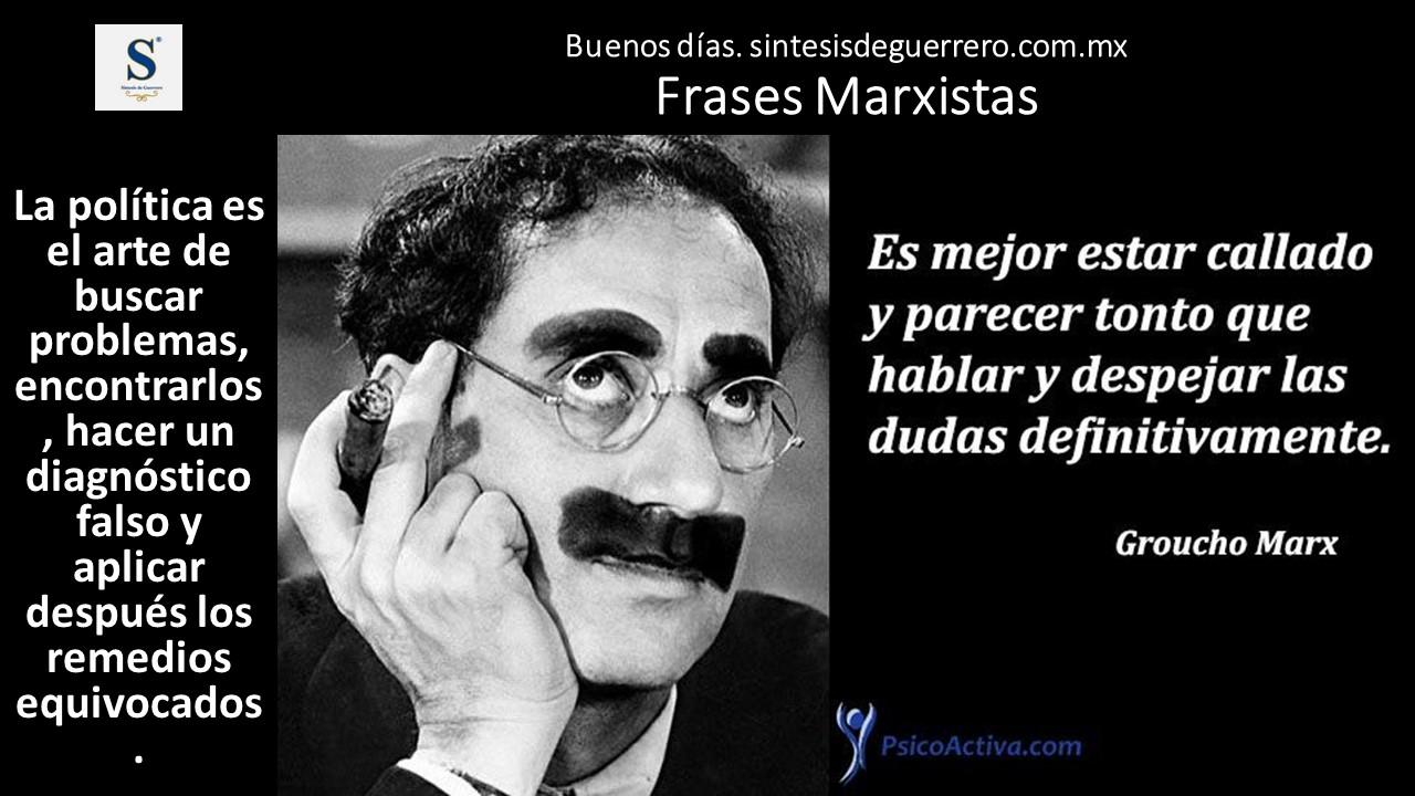 Buenos días. Frases Marxistas