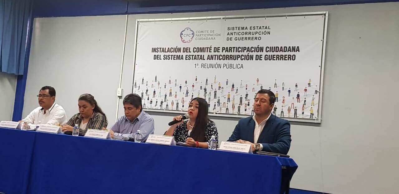 """Instalan """"Comité Anticorrupción"""" de Guerrero"""