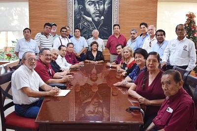 Gobierno de Adela Román recibe respaldo de Comunidad Politécnica
